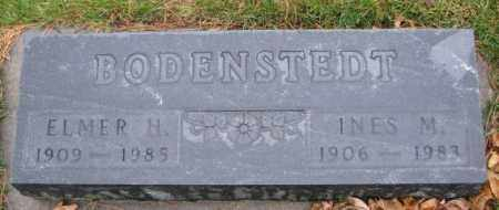 BODENSTEDT, INES M. - Cedar County, Nebraska | INES M. BODENSTEDT - Nebraska Gravestone Photos