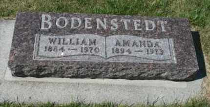 BODENSTEDT, AMANDA - Cedar County, Nebraska | AMANDA BODENSTEDT - Nebraska Gravestone Photos