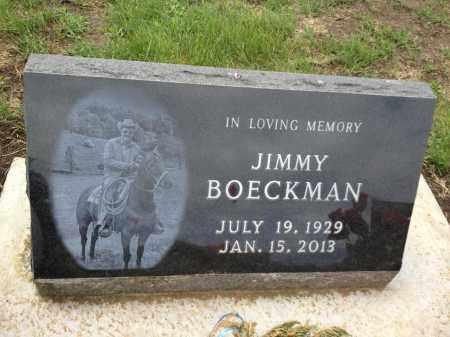 BOECKMAN, JIMMY - Cedar County, Nebraska | JIMMY BOECKMAN - Nebraska Gravestone Photos