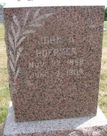 BOERNER, JOHN A. - Cedar County, Nebraska | JOHN A. BOERNER - Nebraska Gravestone Photos