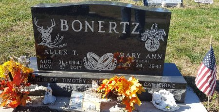 BONERTZ, MARY ANN - Cedar County, Nebraska | MARY ANN BONERTZ - Nebraska Gravestone Photos