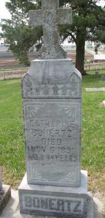 BONERTZ, CATHERINE - Cedar County, Nebraska | CATHERINE BONERTZ - Nebraska Gravestone Photos