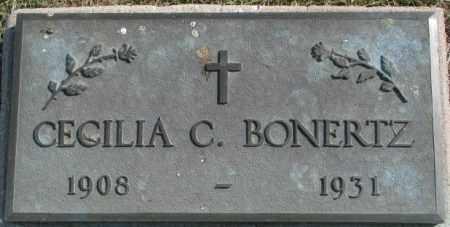 BONERTZ, CECILIA C. - Cedar County, Nebraska | CECILIA C. BONERTZ - Nebraska Gravestone Photos