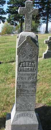 BONERTZ, JOHAN - Cedar County, Nebraska | JOHAN BONERTZ - Nebraska Gravestone Photos