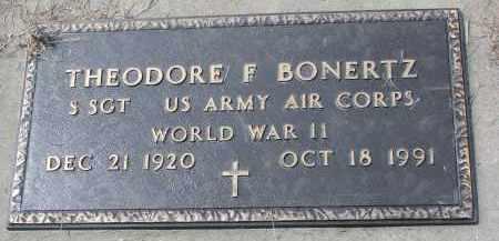 BONERTZ, THEODORE F. (WW II) - Cedar County, Nebraska | THEODORE F. (WW II) BONERTZ - Nebraska Gravestone Photos
