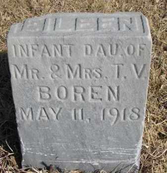 BOREN, EILEEN - Cedar County, Nebraska | EILEEN BOREN - Nebraska Gravestone Photos