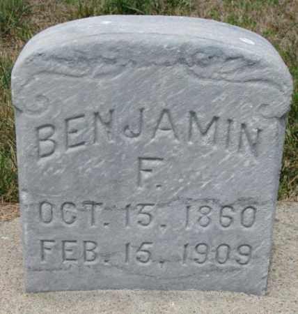 BOUGHN, BENJAMIN FRANKLIN - Cedar County, Nebraska | BENJAMIN FRANKLIN BOUGHN - Nebraska Gravestone Photos