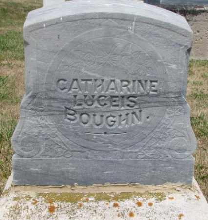 BOUGHN, CATHARINE #2 - Cedar County, Nebraska | CATHARINE #2 BOUGHN - Nebraska Gravestone Photos