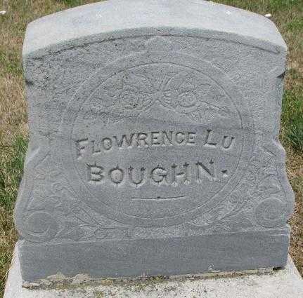 BOUGHN, FLOWRENCE LU #2 - Cedar County, Nebraska   FLOWRENCE LU #2 BOUGHN - Nebraska Gravestone Photos