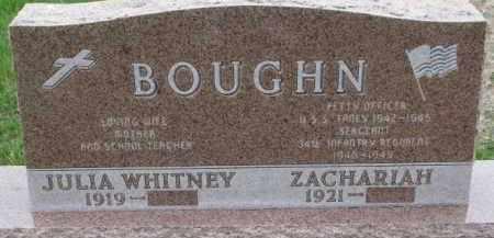 BOUGHN, JULIA - Cedar County, Nebraska   JULIA BOUGHN - Nebraska Gravestone Photos