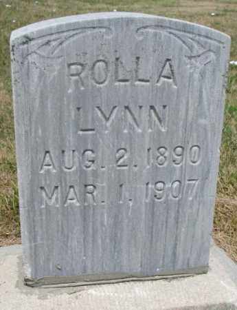 BOUGHN, ROLLA LYNN - Cedar County, Nebraska | ROLLA LYNN BOUGHN - Nebraska Gravestone Photos