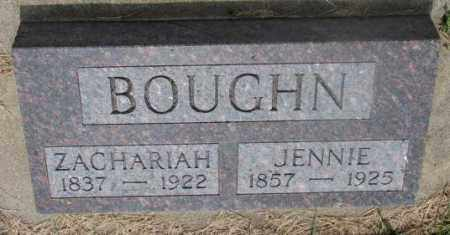 BOUGHN, ZACHARIAH - Cedar County, Nebraska | ZACHARIAH BOUGHN - Nebraska Gravestone Photos