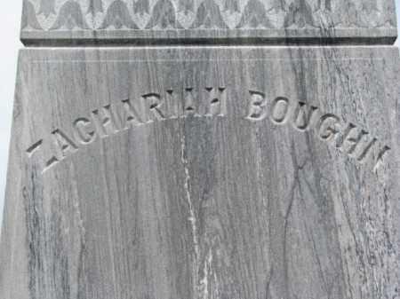 BOUGHN, ZACHARIAH - Cedar County, Nebraska | ZACHARIAH BOUGHN - Nebraska Gravestone Photos