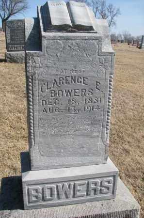 BOWERS, CLARENCE E. - Cedar County, Nebraska | CLARENCE E. BOWERS - Nebraska Gravestone Photos