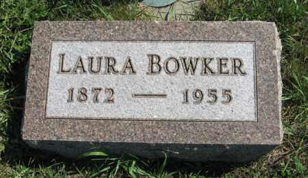BOWKER, LAURA - Cedar County, Nebraska   LAURA BOWKER - Nebraska Gravestone Photos
