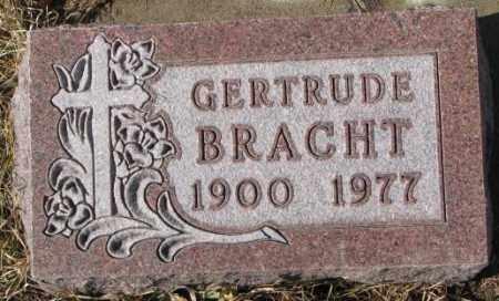 BRACHT, GERTRUDE - Cedar County, Nebraska | GERTRUDE BRACHT - Nebraska Gravestone Photos