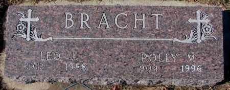 BRACHT, POLLY M. - Cedar County, Nebraska   POLLY M. BRACHT - Nebraska Gravestone Photos