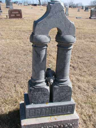 BRANDRUP, JAMES - Cedar County, Nebraska | JAMES BRANDRUP - Nebraska Gravestone Photos