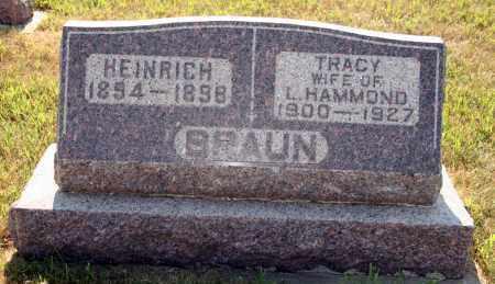 HAMMOND, TRACY - Cedar County, Nebraska | TRACY HAMMOND - Nebraska Gravestone Photos