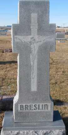 BRESLIN, WILLIAM J. - Cedar County, Nebraska   WILLIAM J. BRESLIN - Nebraska Gravestone Photos