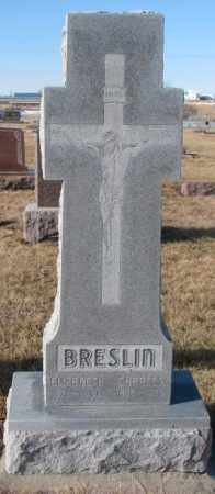 BRESLIN, CHARLES - Cedar County, Nebraska   CHARLES BRESLIN - Nebraska Gravestone Photos