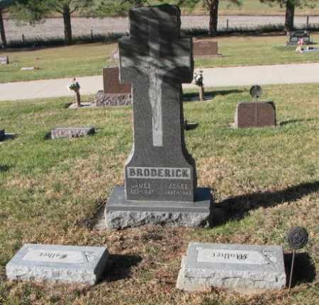 BRODERICK, JAMES - Cedar County, Nebraska | JAMES BRODERICK - Nebraska Gravestone Photos