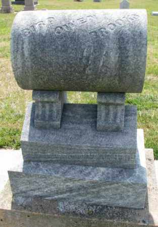 BROOKS, BIRD OWEN - Cedar County, Nebraska | BIRD OWEN BROOKS - Nebraska Gravestone Photos