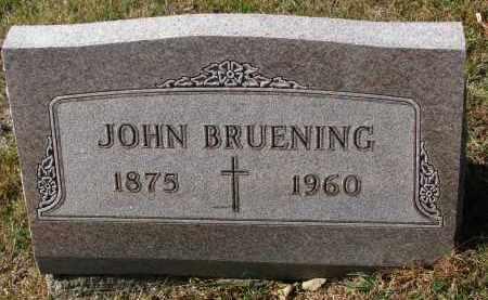 BRUENING, JOHN - Cedar County, Nebraska | JOHN BRUENING - Nebraska Gravestone Photos