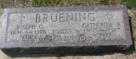 BRUENING, CATHERINE R. - Cedar County, Nebraska | CATHERINE R. BRUENING - Nebraska Gravestone Photos