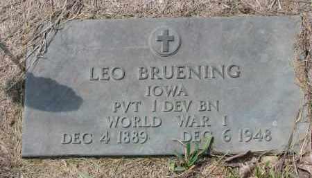 BRUENING, LEO - Cedar County, Nebraska   LEO BRUENING - Nebraska Gravestone Photos