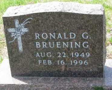 BRUENING, RONALD G. - Cedar County, Nebraska   RONALD G. BRUENING - Nebraska Gravestone Photos