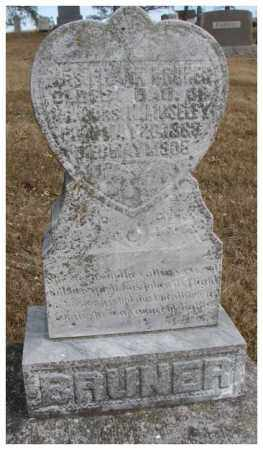 BRUNER, MRS. FRANK B. - Cedar County, Nebraska   MRS. FRANK B. BRUNER - Nebraska Gravestone Photos