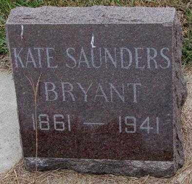 BRYANT, KATE - Cedar County, Nebraska | KATE BRYANT - Nebraska Gravestone Photos