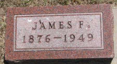 BUCHANAN, JAMES F. - Cedar County, Nebraska | JAMES F. BUCHANAN - Nebraska Gravestone Photos
