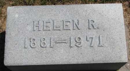 BUOL, HELEN R. - Cedar County, Nebraska | HELEN R. BUOL - Nebraska Gravestone Photos