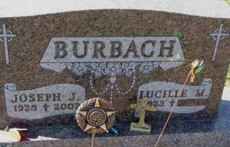 BURBACH, LUCILLE M. - Cedar County, Nebraska | LUCILLE M. BURBACH - Nebraska Gravestone Photos