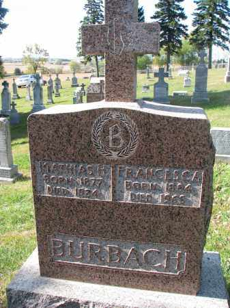 BURBACH, MATHIAS H. - Cedar County, Nebraska | MATHIAS H. BURBACH - Nebraska Gravestone Photos
