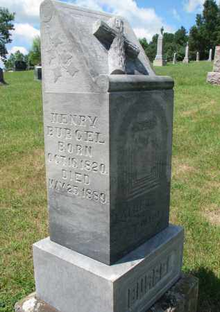 BURGEL, HENRY - Cedar County, Nebraska   HENRY BURGEL - Nebraska Gravestone Photos