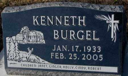 BURGEL, KENNETH - Cedar County, Nebraska | KENNETH BURGEL - Nebraska Gravestone Photos