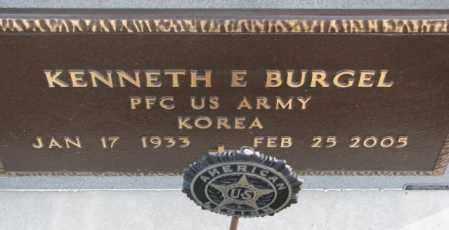 BURGEL, KENNETH E. (KOREA) - Cedar County, Nebraska | KENNETH E. (KOREA) BURGEL - Nebraska Gravestone Photos