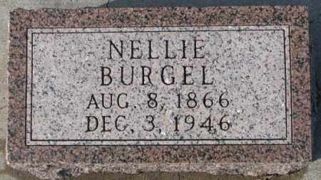 BURGEL, NELLIE - Cedar County, Nebraska | NELLIE BURGEL - Nebraska Gravestone Photos