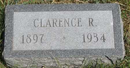 BURKHART, CLARENCE R. - Cedar County, Nebraska   CLARENCE R. BURKHART - Nebraska Gravestone Photos