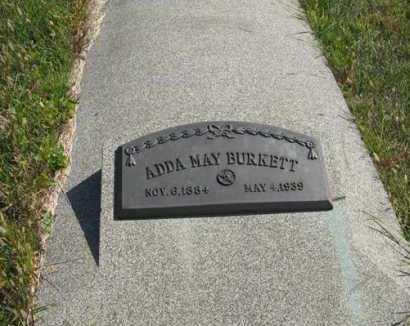 BURKETT, ADDA MAY - Cedar County, Nebraska | ADDA MAY BURKETT - Nebraska Gravestone Photos