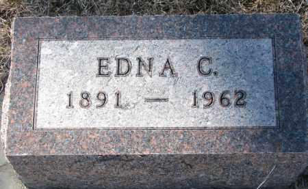 BURNEY, EDNA C. - Cedar County, Nebraska | EDNA C. BURNEY - Nebraska Gravestone Photos