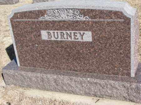 BURNEY, FAMILY STONE - Cedar County, Nebraska   FAMILY STONE BURNEY - Nebraska Gravestone Photos