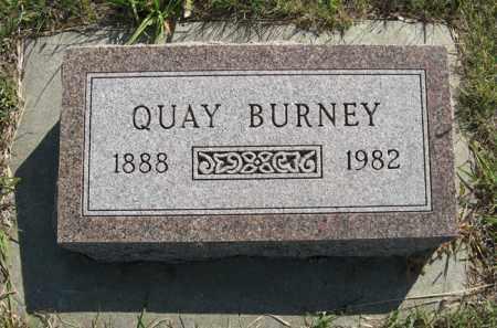 BURNEY, QUAY - Cedar County, Nebraska | QUAY BURNEY - Nebraska Gravestone Photos