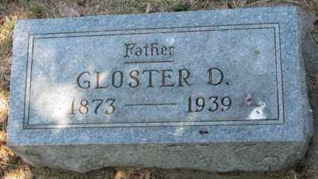 BURNHAM, GLOSTER D. - Cedar County, Nebraska | GLOSTER D. BURNHAM - Nebraska Gravestone Photos