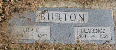 BURTON, LILA E. - Cedar County, Nebraska | LILA E. BURTON - Nebraska Gravestone Photos