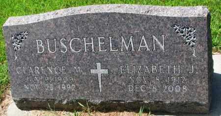 BUSCHELMAN, CLARENCE M. - Cedar County, Nebraska | CLARENCE M. BUSCHELMAN - Nebraska Gravestone Photos