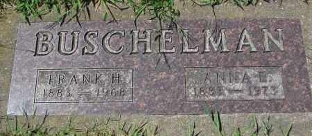 BUSCHELMAN, ANNA E. - Cedar County, Nebraska | ANNA E. BUSCHELMAN - Nebraska Gravestone Photos